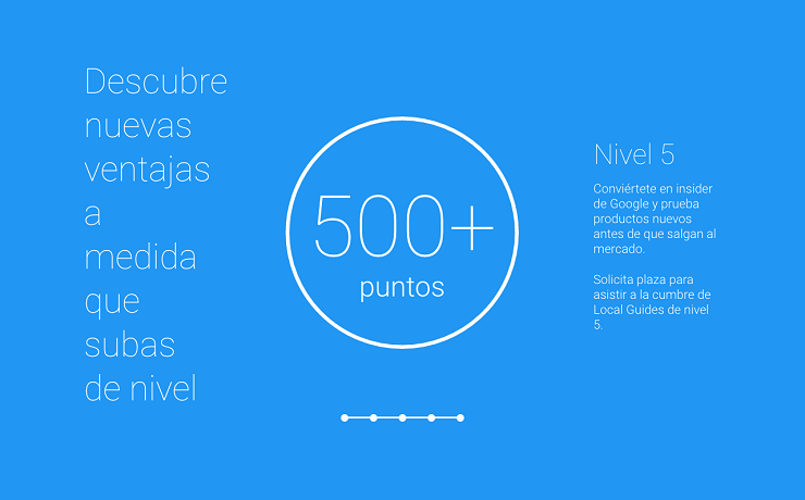ventajas beneficios nivel 5 local guides google